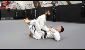 Sweep with hands on ankles (Beginner)